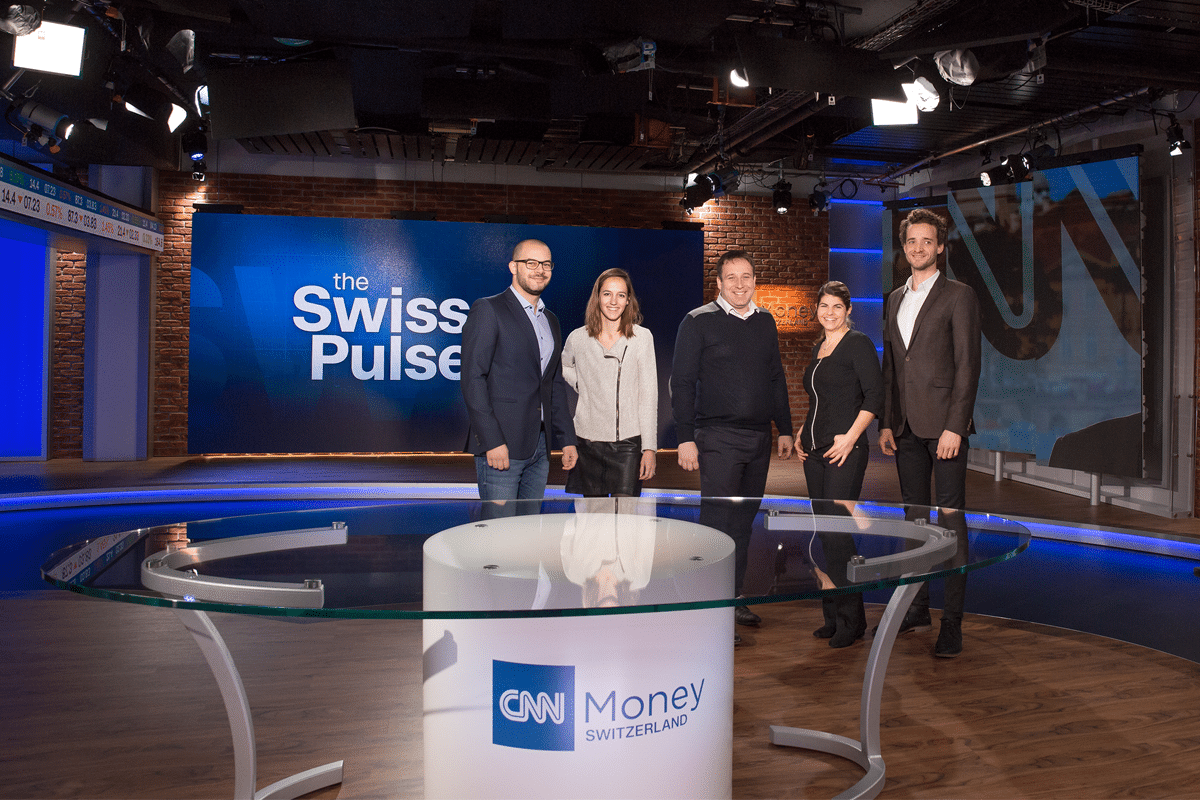 MediaGo et CNNMoney Switzerland